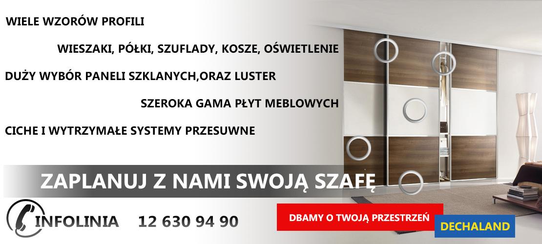 Wspaniały Szafy na wymiar Kraków, tanie szafy: wnękowe, przesuwne, do zabudowy AS41